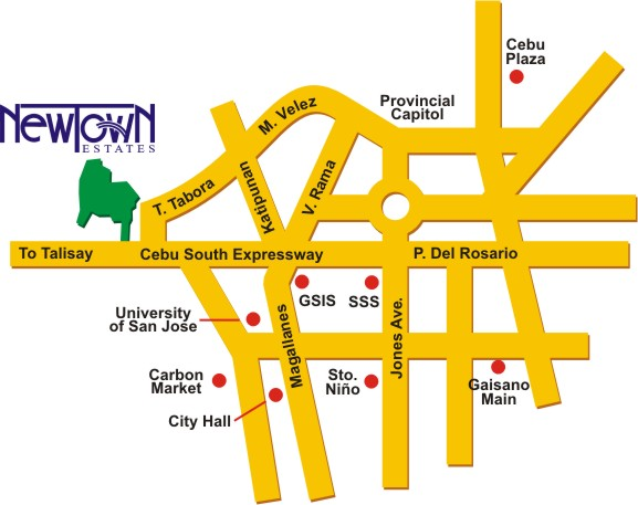 newtown_vicinity_map