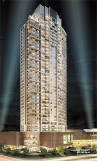 PARK POINT RESIDENCES (Limited Edition Residences): SKYSCAPE RESIDENCE B 3 Bedroom BI-Level Penthouse Unit