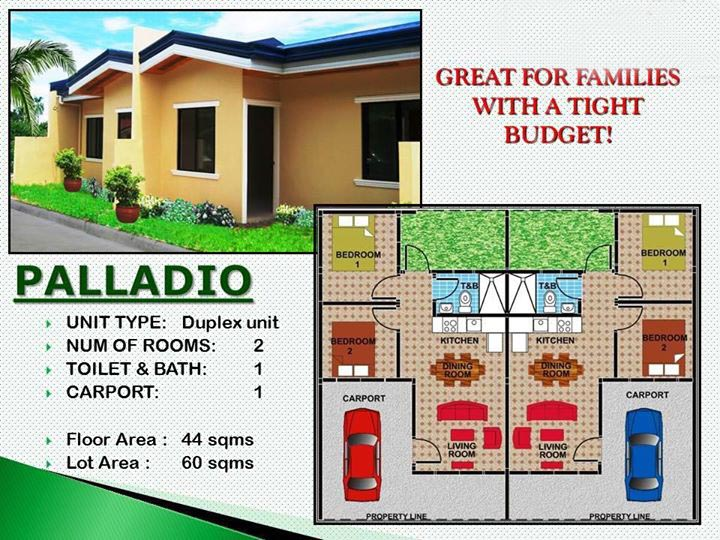 THE VILLAGIO: Palladio (Duplex Unit)
